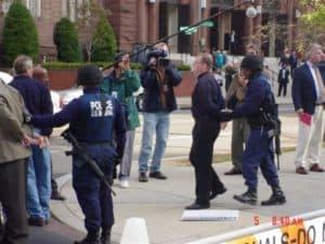 Daniel Sparks is arrested.